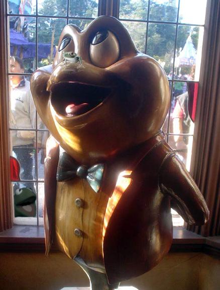 Mr. Toad vandalism