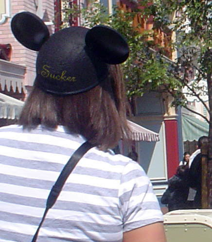 April Fools Mickey hat