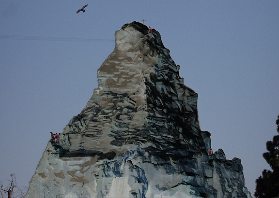 Disneyland antimatterhorn test