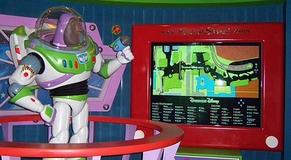 Buzz Lightyear, tourguide