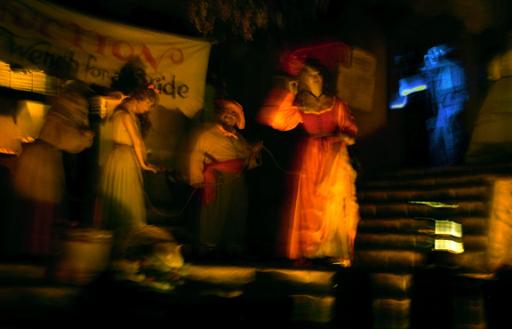 Could this be a real photo of a ghost in Disneyland\'s Pirates of the Caribbean attraction?