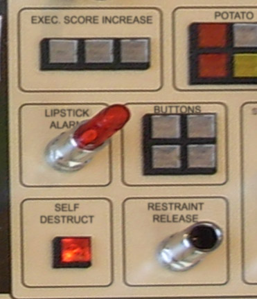 Toy Story Midway Mania control panel