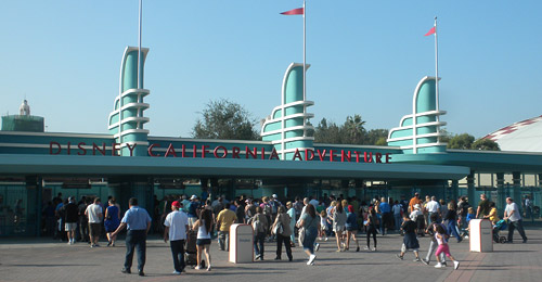 DCA's new entrance