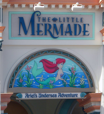 Little Mermaid entrance