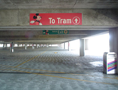 Mickey and Friends parking structure