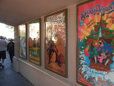 Disneyland Tour: Attraction posters