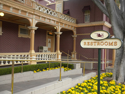 Disneyland Tour: Main Street restrooms