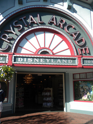 Disneyland Tour: Crystal Arcade