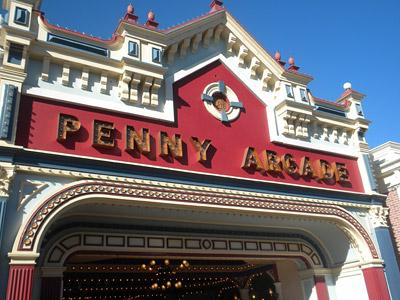 Disneyland Tour: Penny Arcade
