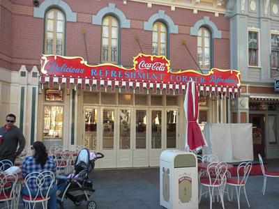 Disneyland Tour: Coca-Cola Corner