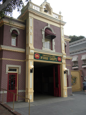 Disneyland Tour: Disneyland Fire Department