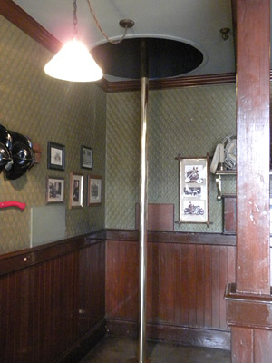 Disneyland Tour: Fireman's Pole