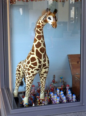Secret giraffe