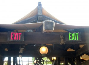 Jingle Cruise signs
