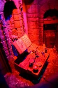 Snow White's Scary Adventures queue dungeon model
