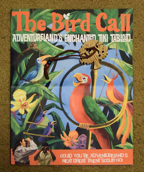 The Bird Call Adventureland juju magazine