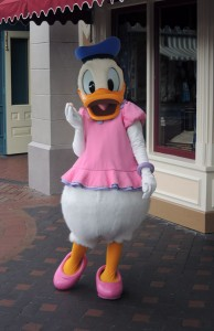 Donald as Daisy