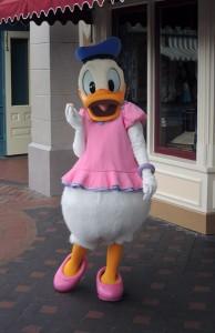 Donald as Daisy