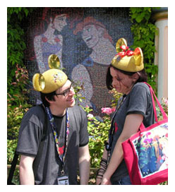Disneyland Fanatics Beau and Sara Jackson
